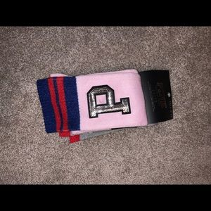 VS PINK knee high socks